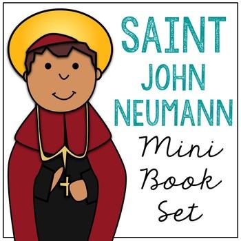 Saint John Neumann Biography Mini Book in 3 Formats, Catholic Resource