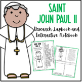 Saint John Paul II Research Lapbook | Biography Project