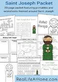 Saint Joseph Activities Printable Packet