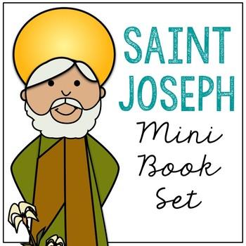 Saint Joseph Biography Mini Book in 3 Formats, Catholic Resource
