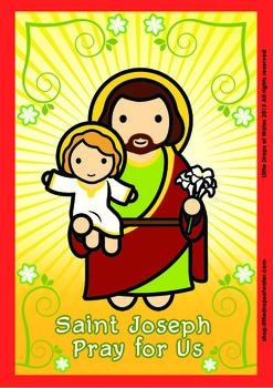 Saint Joseph Poster - Catholic