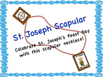 Saint Joseph Scapular Necklace
