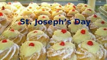 Saint Josephs Day - Power Point - Information Facts Pictur