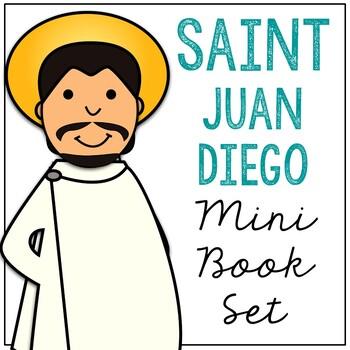 Saint Juan Diego l Mini Book in 3 Formats, Catholic Resource
