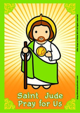 Saint Jude Poster - Catholic