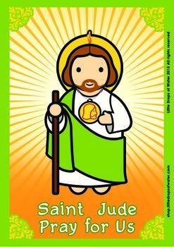 Saint Jude Poster - Catholic