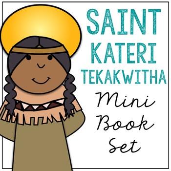 Saint Kateri Tekakwitha Biography Mini Book in 3 Formats, Catholic Resource