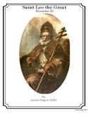 Saint Leo the Great - November 10