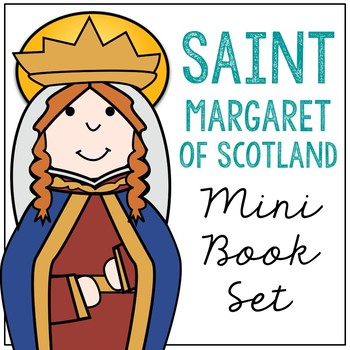 Saint Margaret of Scotland Biography Mini Book in 3 Formats, Catholic Resource