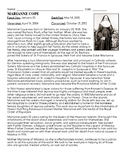 Saint Marianne Cope Biography & Crossword Puzzle