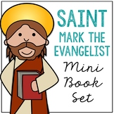 Saint Mark the Evangelist Biography Mini Book in 3 Formats, Catholic Resource