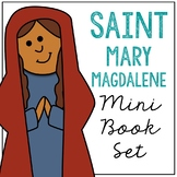 Saint Mary Magdalene Biography Mini Book in 3 Formats, Catholic Resource