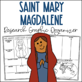 Saint Mary Magdalene Research Graphic Organizer | Biography Project