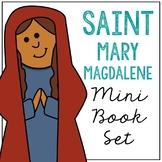 Saint Mary Magdalene l Mini Book in 3 Formats, Catholic Resource