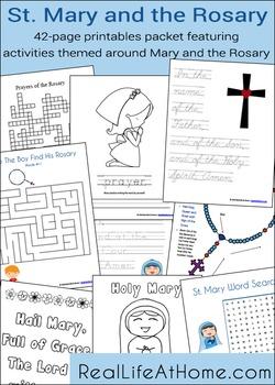 Saint Mary and the Rosary Activity Packet