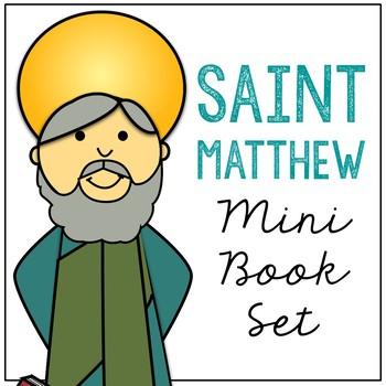 Saint Matthew Biography Mini Book in 3 Formats, Catholic Resource