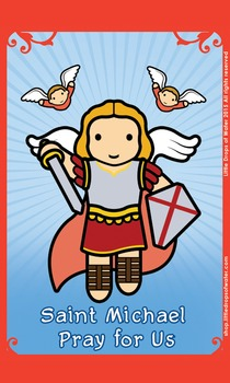Saint Michael Flash Card
