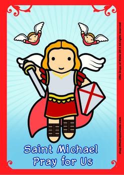 Saint Michael Poster - Catholic