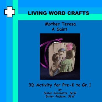 Saint Mother Teresa Mobile for Gr. Pre-K to Gr. 1
