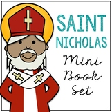 Saint Nicholas Biography Mini Book in 3 Formats, Catholic