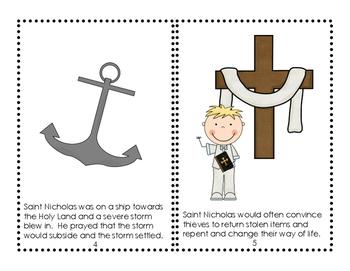 Saint Nicholas Mini Reader & Decodable