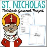 Saint Nicholas Notebook Journal Project, Catholic Resources