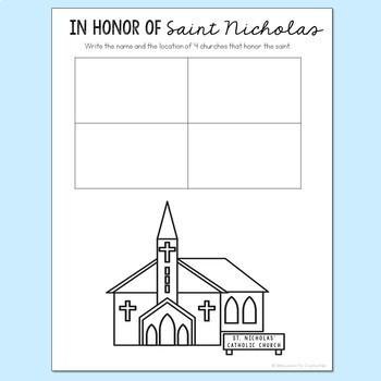Saint Nicholas Notebook Journal Project, Christian Resources