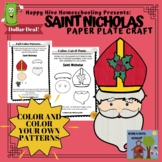 Saint Nicholas Paper Plate Craft for St. Nicholas Day or S