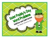 Saint Paddy's Day Word Problems Addition & Subtraction