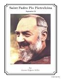 Saint Padre Pio Pietrelcina - September 23