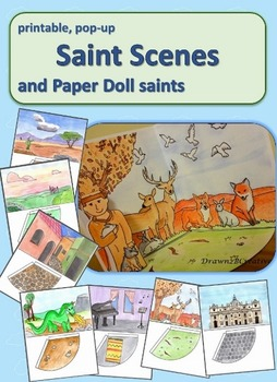 Saint Paper Dolls and Scenes