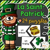 La Saint-Patrick - 24 puzzles - French St. Patrick's Day