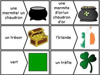 La Saint-Patrick - 24 puzzles - French St. Patrick's Day