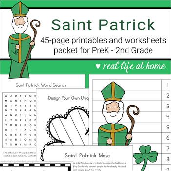 Saint Patrick Activities Printable Packet