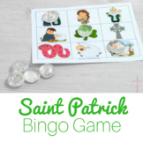 Saint Patrick Bingo Cards for Catholic Kids