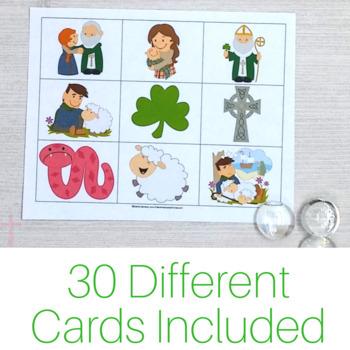 Saint Patrick Bingo Game: No Prep Catholic Activities