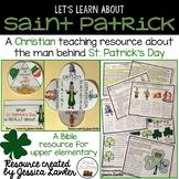 Saint Patrick Biography Bible Packet