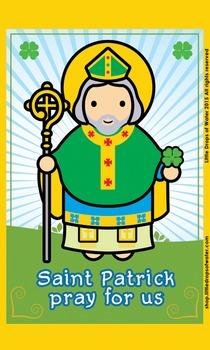 Saint Patrick Flash Card