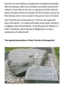 Saint Patrick Handout
