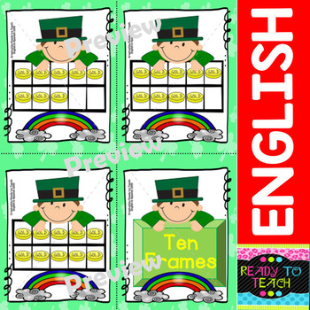 Saint Patrick - Maths and Literacy Centers (Time - Numbers - Alphabet and more)
