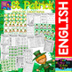 Saint Patrick - Maths and Literacy Centers (Time - Numbers