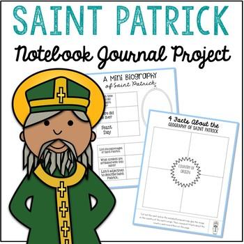 Saint Patrick Notebook Journal Project, Christian Resources, Catholic Schools