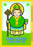 Saint Patrick Poster - Catholic
