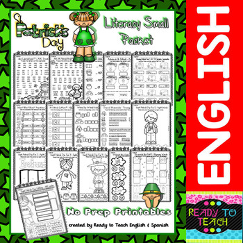Saint Patrick - Print and Ready Set -  Literacy Small Packet