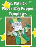 Saint Patrick Puppet Templates