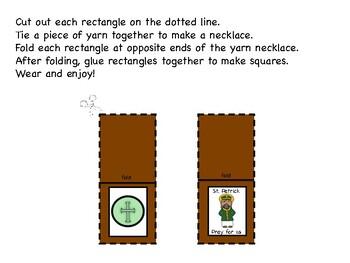 Saint Patrick Scapular Necklace