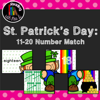 Saint Patrick's Day 11-20 Numbers Match Puzzle Game