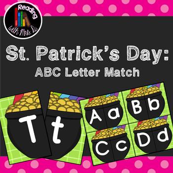 Saint Patrick's Day ABC Letter Match