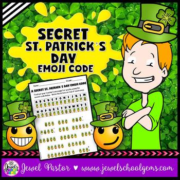 Saint Patrick's Day Activities (St. Patrick's Day Emoji Ac