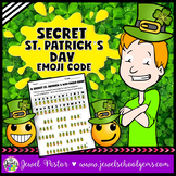 Saint Patrick's Day Activities (St. Patrick's Day Emoji Ac